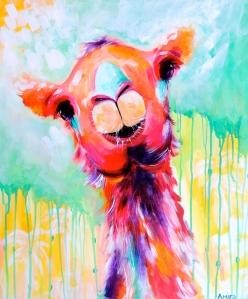 """""""Clarence"""" 20x24 Acrylic on deep-edge canvas. Available"""