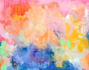 """My Particular Infinite"" 30x24"" canvas www.amirarahim.com"