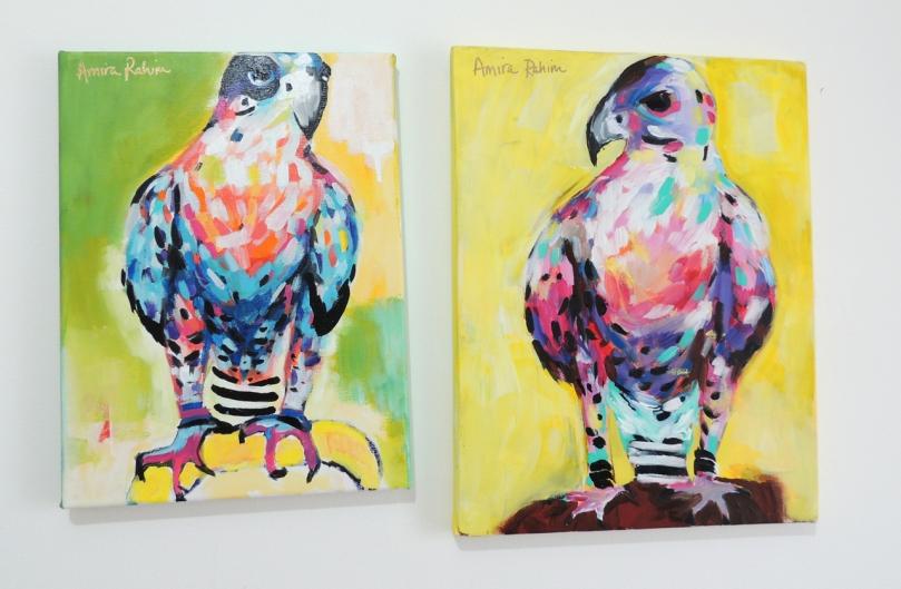 Original Falcon Mini Paintings