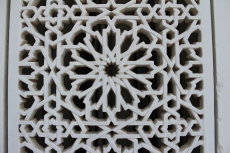 I find these arabesque Islamic geometric art very inspiring. I am trying to incorporate this all. This picture is from my recent trip to Oman.